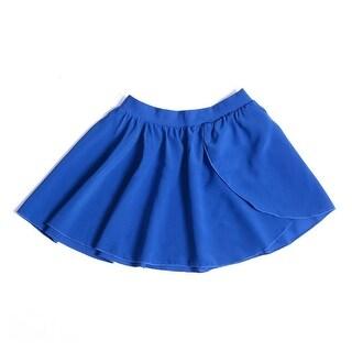 Sansha Little Girls Navy Elasic Waist Serenity Pull-on Dance Skirt 4-6
