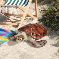 Design Toscano Flat Back Sea Turtle Statue