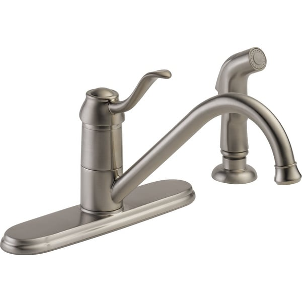 Peerless P188700LF-W 1.8 GPM Widespread Kitchen Faucet - Brilliance Stainless