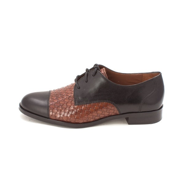 Cole Haan Womens Jagger Weave Oxford Closed Toe Oxfords - 6