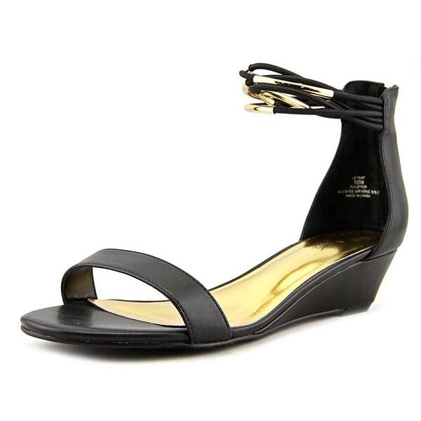 Thalia Sodi Leyna Women Black Sandals