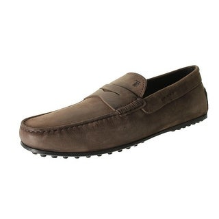 Tod's Mens Leather Moccasin Penny Loafers - 9