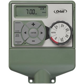 Orbit 57596 6-Station Easy Dial Indoor Sprinkler Timer