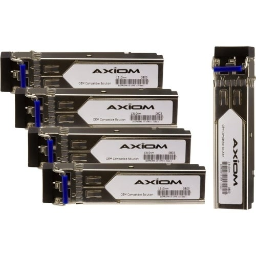 """Axion GLC-LH-SMD-5PK Axiom 1000BASE-LX SFP w/DOM for Cisco (5-Pack) - For Optical Network, Data Networking - 1 x 1000Base-LX -"