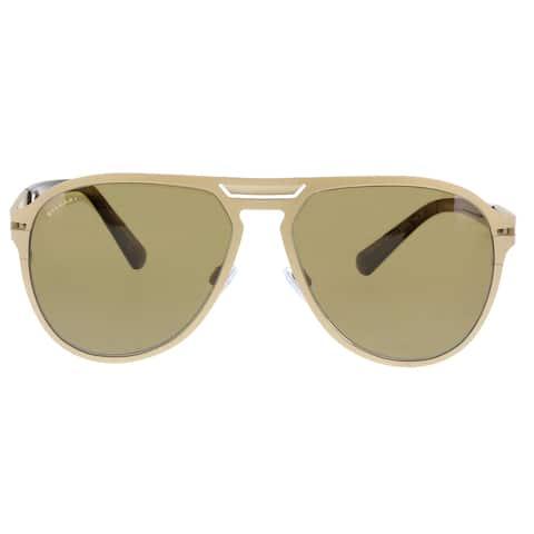 Bulgari BV5043TK 203983 Gold Aviator Sunglasses - No Size