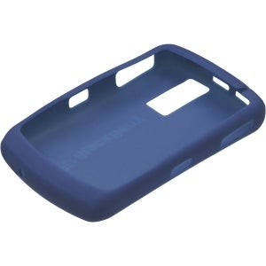 BlackBerry Curve 8310, 8300 Silicone Skin Case (Dark Pearl Blue)