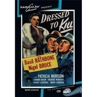 Sherlock Holmes: Dressed To Kill DVD Movie 1946