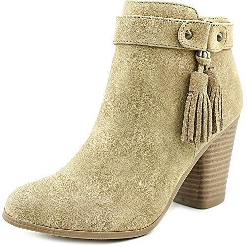 Material Girl Molly Women Tan Ankle Boot