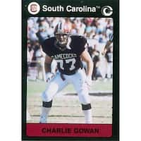 Charlie Gowan Football Card South Carolina 1991 Collegiate