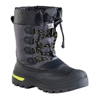 Baffin Boys' Jet Snowtrack Winter Boot Youth Black