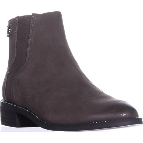 Franco Sarto Brandy Flat Casual Ankle Boots, Peat Leather