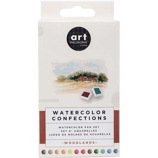 Woodlands - Prima Watercolor Confections Watercolor Pans 12/Pkg