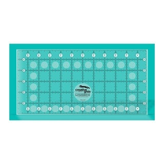 "Link to Creative Grids Simple 7/8 Triangle Maker Quilt Ruler - 6"" x 12"" x 0.25"" Similar Items in Sewing & Quilting"