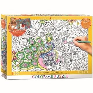 Color Me Majestic Feathers 300 Piece Puzzle