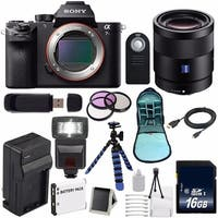 Sony Alpha a7S II a7S Mark II a7SII ILCE7SM2/B Mirrorless Digital Camera (International Model no Warranty) 6AVE Bundle 86