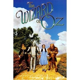 ''The Wizard of Oz, Yellow Brick Road'' by Anon Movie & TV Posters Art Print (36 x 24 in.)
