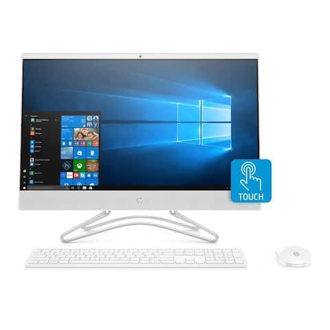 HP 24-F0018 AMD A9 4GB 1TB Full HD WLED Touch All-in-One (Refurbished) - Snow White