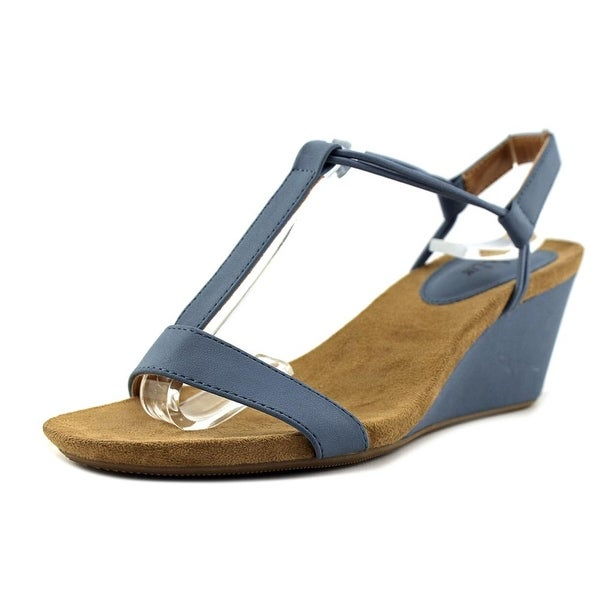 Style & Co Mulan W Open Toe Synthetic Wedge Sandal