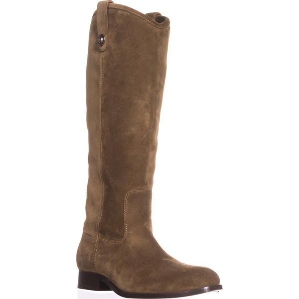 FRYE Melissa Button Western Boots, Cashew - 9 us