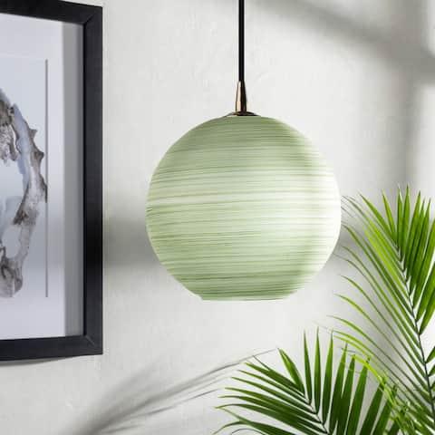 Renova Boho Striped 1-light Globe Pendant