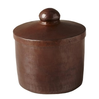 "Native Trails CPB32 3"" Handcrafted Copper Canister"