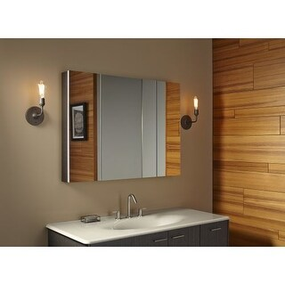 "Kohler K-99010 Verdera 40""w x 30""h Triple Door Medicine Cabinet with Self-Close Hinges and Triple Mirror Design"