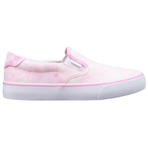 Lugz Clipper Tie-Dye Slip On Womens Sneakers Shoes Casual - Pink