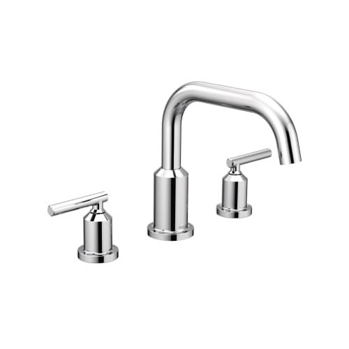 Moen T961 Gibson Widespread Roman Tub Faucet Trim with Two Handles ...