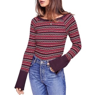 Link to Free People Womens Striped Basic T-Shirt Similar Items in Tops