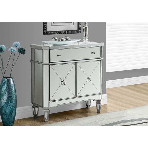 Monarch Specialties I 3710 32 Inch Tall Accent Storage