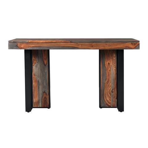 "Carbon Loft Petty Sierra Brown Console Table - 54""L x 18""W x 30""H"