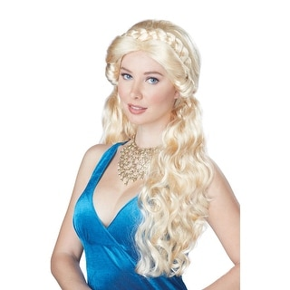 California Costumes Medieval Beauty Wig (Blonde) - Blonde