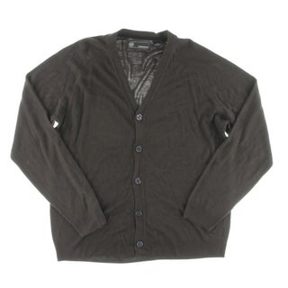 Weatherproof Mens Cardigan Sweater Marled Button Front (4 options available)