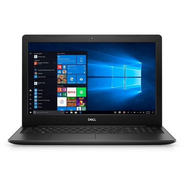 "Dell Inspiron 3583 Intel Core i7-8565U X4 4.6GHz 8GB 256GB SSD 15.6"", Black (Certified Refurbished)"