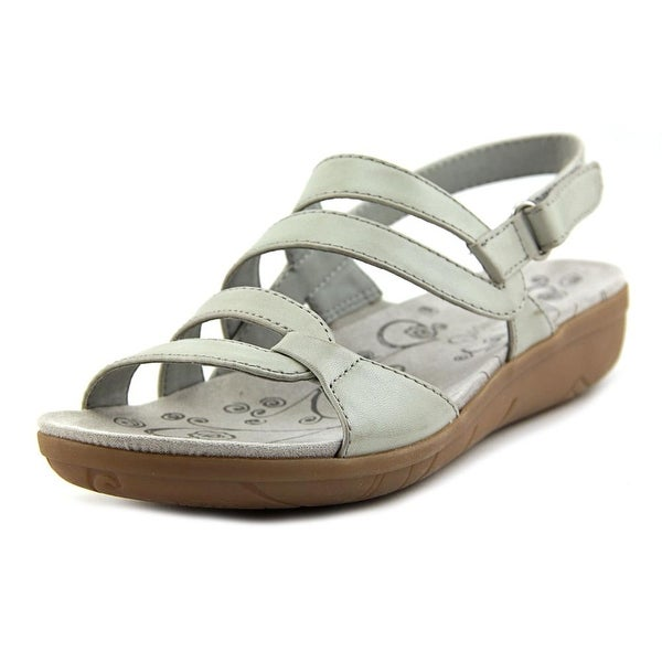 Baretraps Jerie Women Open-Toe Synthetic Gray Slingback Sandal