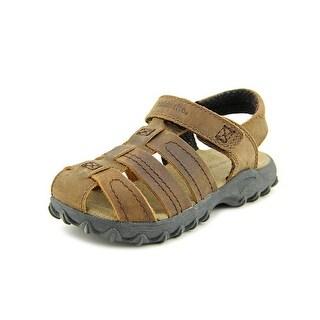 Stride Rite Hudsen Open Toe Leather Gladiator Sandal
