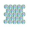 Swarovski Elements Crystal, Round Flatback Rhinestone Hotfix SS20 4.6mm, 50 Pieces, Aquamarine AB - Thumbnail 0