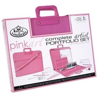 Pink Art Complete Artist Portfolio Set-