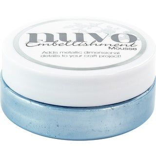 Nuvo Embellishment Mousse-Cornflower Blue