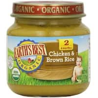 Earth's Best - Organic Chicken & Brown Rice Dinner ( 12 - 4 OZ)