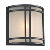 "PLC Lighting 8045LED Summa Single Light 10"" High Integrated LED Outdoor Wall Sconce - ADA Compliant"