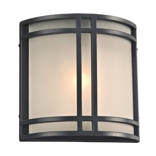 "PLC Lighting 8045LED Summa Single Light 10"" High Integrated LED Outdoor Wall Sconce - ADA Compliant (2 options available)"