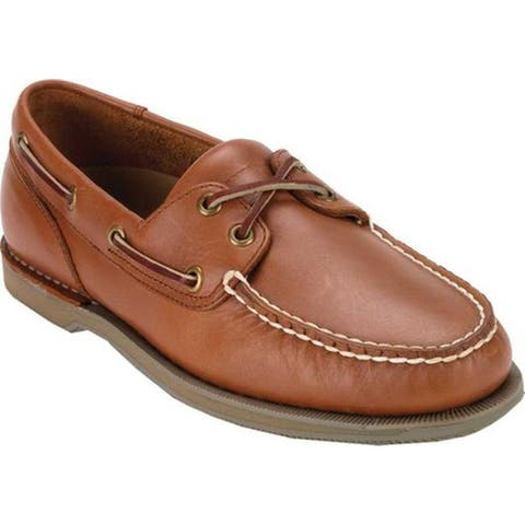 Rockport Men's Perth Boat Shoe Timber w/ Honey Sole