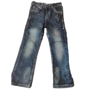 B. Tuff Western Denim Jeans Boys Kids Torque Medium Wash BJTRQL