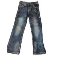 B. Tuff Western Denim Jeans Boys Kids Torque Medium Wash