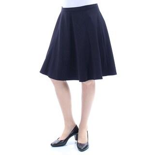 Womens Black Wear To Work Skirt Size 10