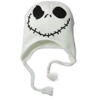 Nightmare Before Christmas Jack Skellington Winter Skully Hat