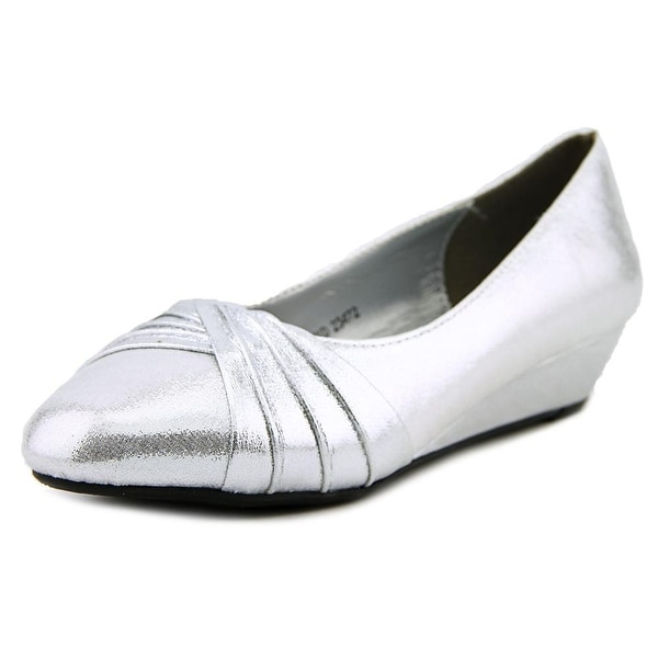 Shop Dyeables Rue Round Toe Canvas Flats