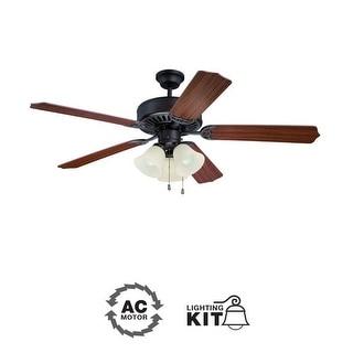"Ellington Fans E206 Pro 52"" 5 Blade Indoor Ceiling Fan - Light Kit Included"