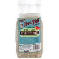 Bob's Red Mill - Organic Steel Cut Oats ( 4 - 24 OZ)